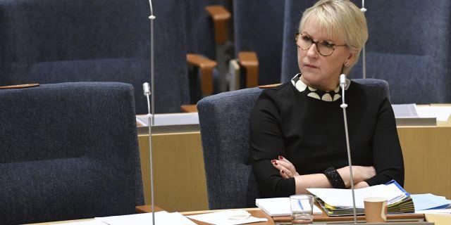Margot Wallström (S). Naina Helen Jåma/TT / TT NYHETSBYRÅN