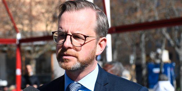 Inrikesminister Mikael Damberg (S). Arkivbild. Fredrik Sandberg/TT / TT NYHETSBYRÅN
