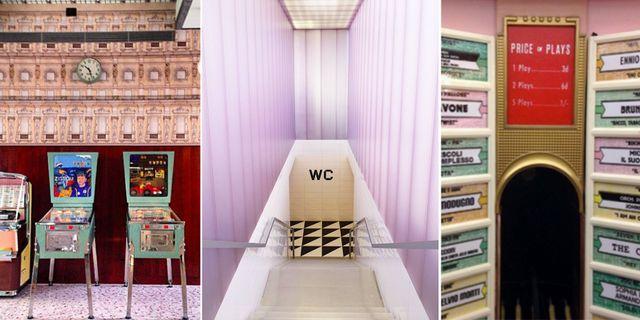 """Bar Luce i Milano är designat av Wes Anderson, stjärnregissören bakom filmer som """"Grand Budapest Hotel"""" och """"The Royal Tenenbaums"""". Flickr"""