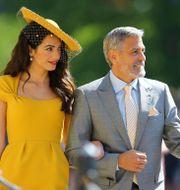 Amal Clooney och George Clooney POOL / TT NYHETSBYRÅN