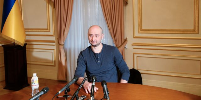 Arkadij Babtjenko. Valentyn Ogirenko / TT / NTB Scanpix