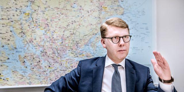 Trafiklandstingsrådet Kristoffer Tamsons (M) Tomas Oneborg/SvD/TT / TT NYHETSBYRÅN