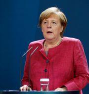 Angela Merkel Axel Schmidt / TT NYHETSBYRÅN