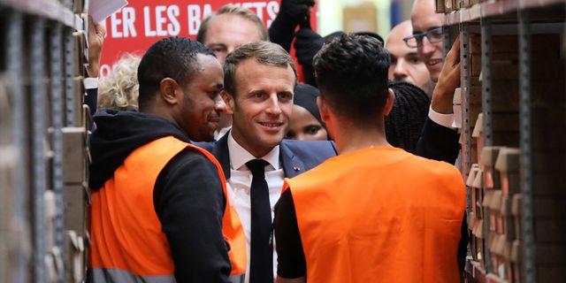 Macron. TT.