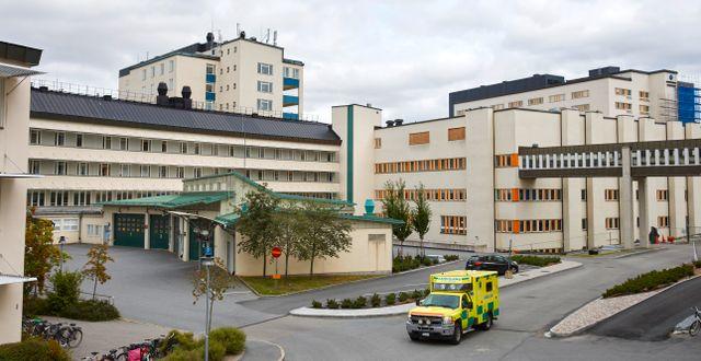 Arkivbild: Ambulansintaget vid Akademiska sjukhuset i Uppsala Fredrik Persson /TT / TT NYHETSBYRÅN