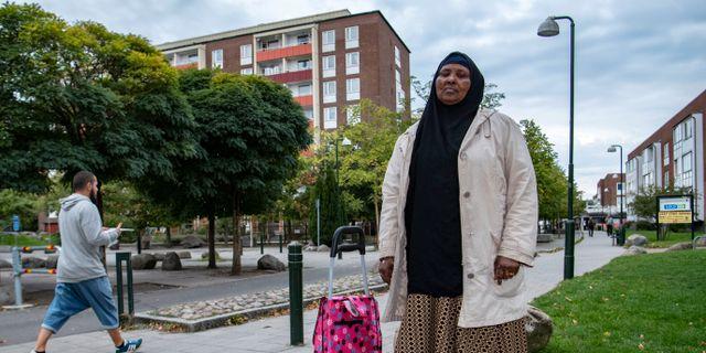 Halima Mohammed. Johan Nilsson/TT / TT NYHETSBYRÅN