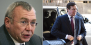 Alfred Gusenbauer (t v), Paul Manafort (t h). TT