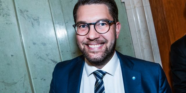 Partiledare Jimmie Åkesson (SD) Tomas Oneborg/SvD/TT / TT NYHETSBYRÅN