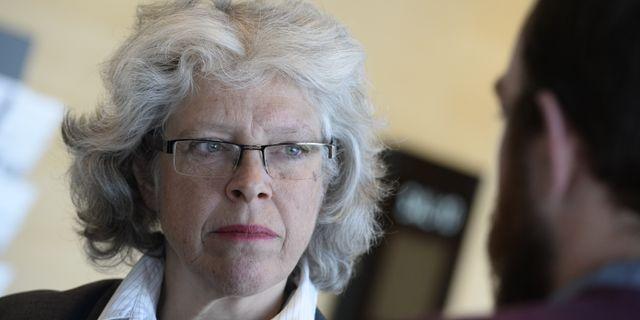 Agnetha Hilding Qvarnström.  Pontus Lundahl/TT / TT NYHETSBYRÅN