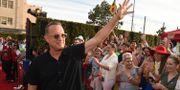 Tom Hanks vid premiären av Toy Story 4 Chris Pizzello / TT NYHETSBYRÅN