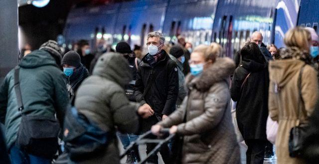 Personer som reser kollektivt i Malmö. Arkivbild. Johan Nilsson/TT / TT NYHETSBYRÅN