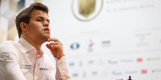 Magnus Carlsen. ANTON VAGANOV / BILDBYRÅN