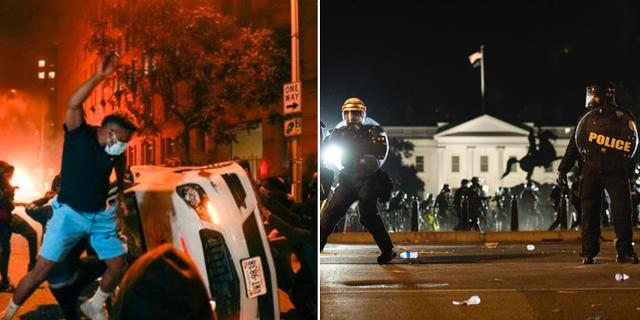 Bilder från Vita huset i Washington DC. TT