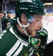 FBK under förlustmatchen mot Växjö. Tommy Pedersen/TT / TT NYHETSBYRÅN