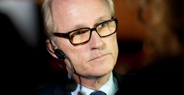 Mats Qviberg är storägare i Öresund. FREDRIK SANDBERG / TT / TT NYHETSBYRÅN