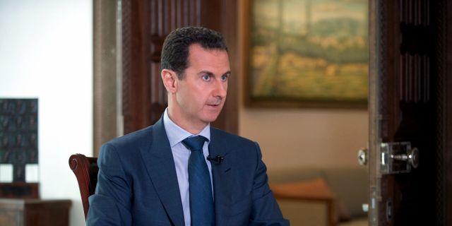Bashar al-Assad TT NYHETSBYRÅN/ NTB Scanpix