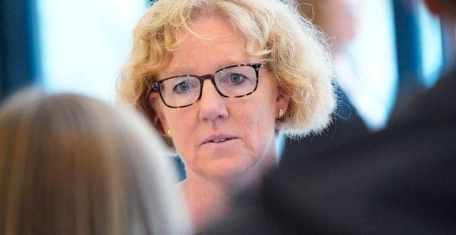 Eva Melander, smittskyddsläkare i Region Skåne. Johan Nilsson/TT / TT NYHETSBYRÅN