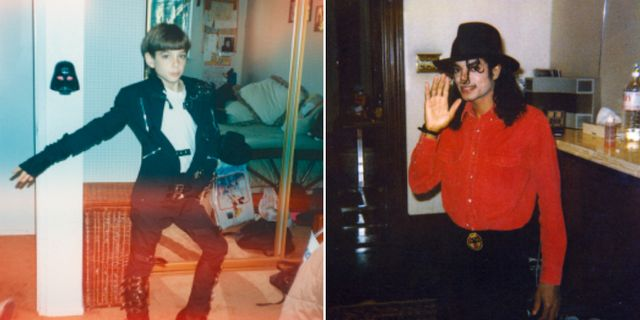 James Safechuck och Michael Jackson. SVT