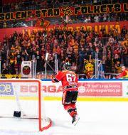Publiken var tillbaka i de svenska hockeyarenorna. SIMON ELIASSON / BILDBYRÅN