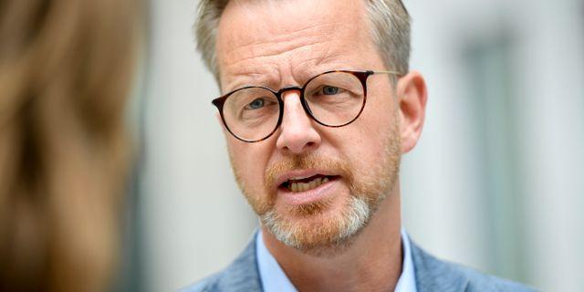 Mikael Damberg. Arkivbild. Stina Stjernkvist/TT / TT NYHETSBYRÅN