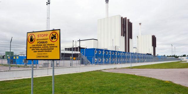 Forsmark kärnkraftverk. Arkivbild. Bertil Ericson / TT / TT NYHETSBYRÅN