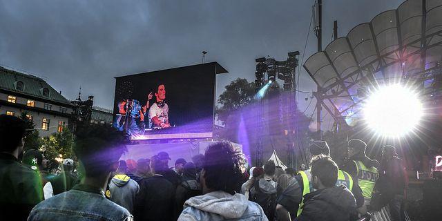 Eidenstein var på festivalen We are Sthlm i sin roll som fältassistent när många övergrepp anmäldes 2015. TT