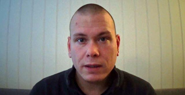 Espen Andersen Bråthen i en video som han tidigare har publicerat på internet. Privat