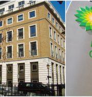 BP:s kontor i London. Wikipedia Commons & Shutterstock