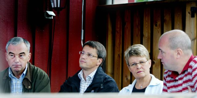 Alliansen när det begav sig. SOFIE WIKLUND / TT NYHETSBYRÅN