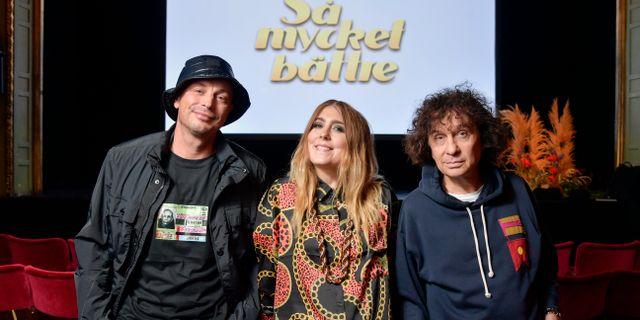 Petter, Miss Li och Magnus Uggla är några av artisterna i Så mycket bättre  Anders Wiklund/TT / TT NYHETSBYRÅN