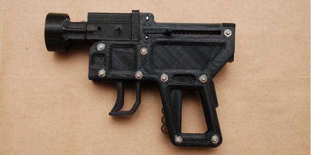 Vapnet som hittades hos kvinnan.  Ur polisens förundersökning.