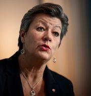 Ylva Johansson. Naina Helén Jåma/TT / TT NYHETSBYRÅN