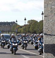 President Emmanuel Macron.  TT.