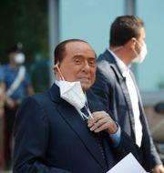 Silvio Berlusconi. Luca Bruno / TT NYHETSBYRÅN