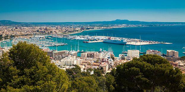 Palma de Mallorca besegrar London och Barcelona. Anita_Bonita / iStockphoto