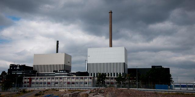 Kärnkraftverket i Oskarshamn Adam Ihse/TT / TT NYHETSBYRÅN