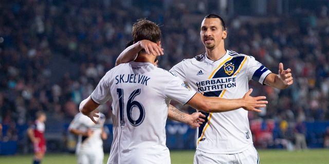 Zlatan Ibrahimovic i LA Galaxy. Kelvin Kuo / TT NYHETSBYRÅN