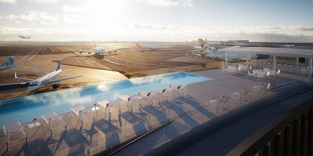 Den nya evighetspoolen på JFK är en av årets coolaste pooler, enligt CNN. MCR