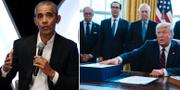 Obama, Mcconnell och Trump TT