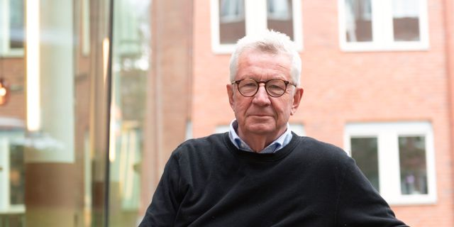 Johan Giesecke. Ali Lorestani / TT / TT NYHETSBYRÅN