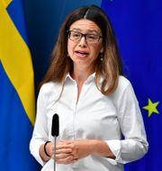 Helena Lindahl.  Jonas Ekströmer/TT / TT NYHETSBYRÅN