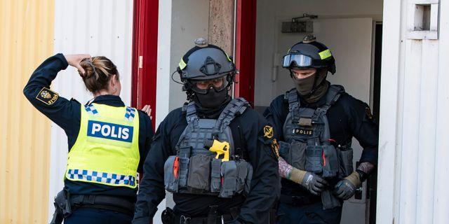 Insats under Operation Rimfrost. Johan Nilsson/TT / TT NYHETSBYRÅN