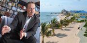 Anders Borg, skatteparadiset Caymanöarna. TT