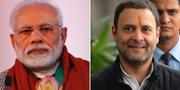 Narendra Modi och Rahul Gandhi TT
