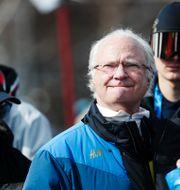 Trogen besökare, kung Carl Gustaf. Andreas Hillergren/TT / TT NYHETSBYRÅN