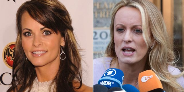 Karen McDougal och Stephanie Clifford. TT