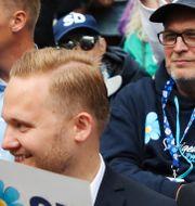 Bild över publikhavet under Jimmie Åkessons tal. Adam Ihse/TT / TT NYHETSBYRÅN