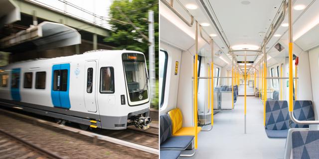 Det nya tåget C30 Bombardier