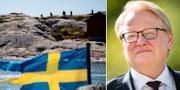 Militärövning/Peter Hultqvist (S) TT