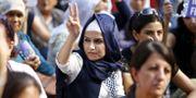 Fredsdemonstration i Istanbul, arkivbild. OSMAN ORSAL / TT NYHETSBYRÅN